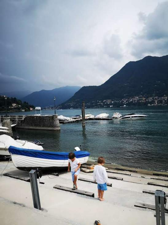 Lake Como with kids - Cernobbio