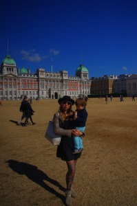 Icecream, pouting & horseguards