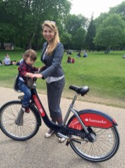 St James park London with toddler - biking anyone?