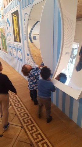 Somerset House with toddlers