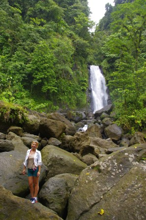 Best things to do in Dominica: Titou Gorge: Trafalgar Falls
