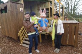 Peter Rabbit adventure playground