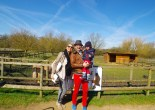 Family days out Hertfordshire : Willows Farm St Albans