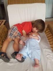 Ritz Abama Tenerife with baby