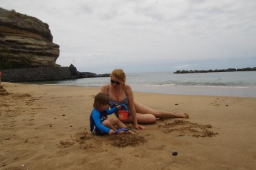 Tenerife with toddler - beach