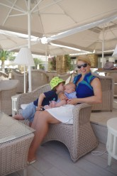 Greece with toddler and baby @ Sani