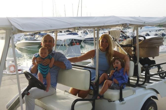 Greece for kids - Sani beach