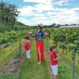 Copas Farm with kids