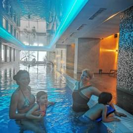 Belvedere hotel Brasov swimming pool
