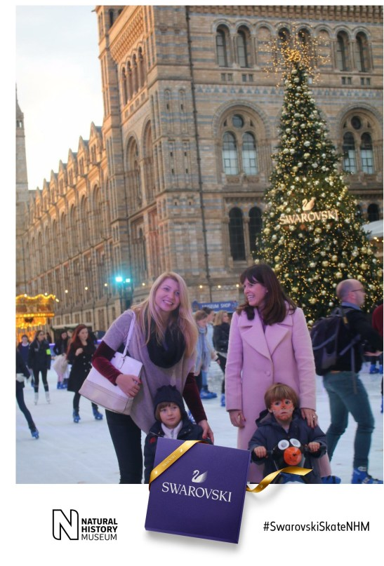 Ice skating at NHM
