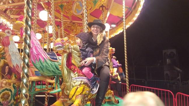 The carousel at Kew gardens