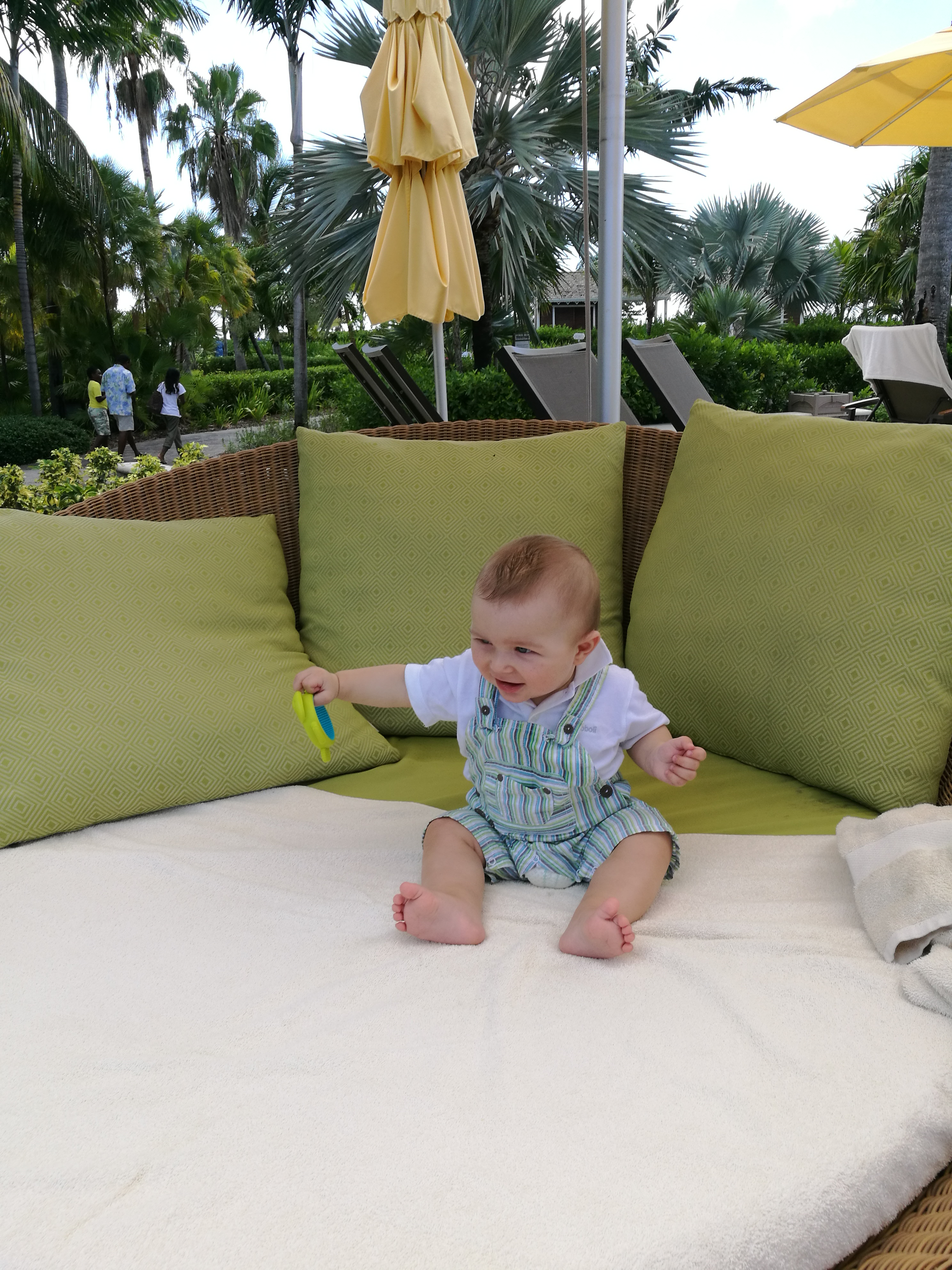 Baby chilling out