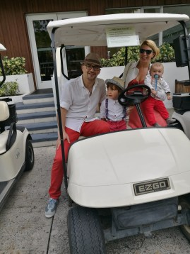 Nevis with kids: the buggy driving