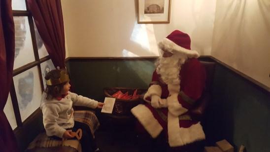 Father Christmas at the Hall