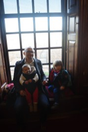 Kensington Palace with toddlers