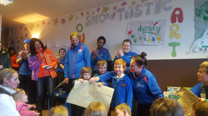 Tignes with kids: Espritski holidays ceremony