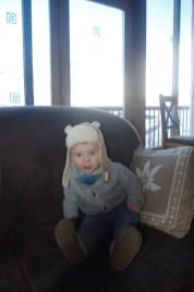 Tignes with baby Esprit chalet