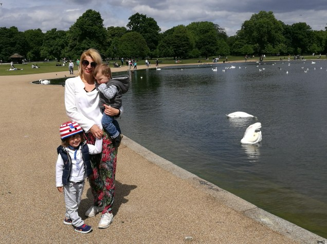 Easter activities for kids in London - outside Kensington Palace