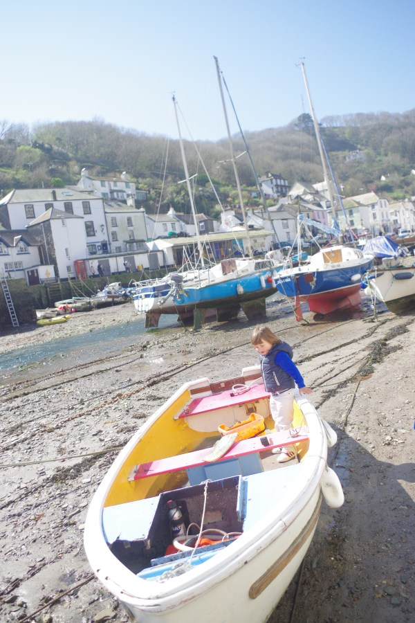 Cornwall with kids : Polperro
