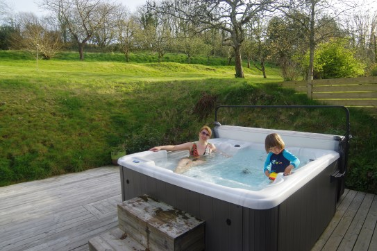 Kilminorth Cotages - luxury cottages Cornwall with hot tub