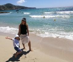 Family guide to Ibiza: Calla Tarida with kids