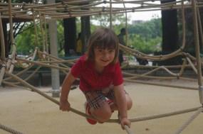 Playground next to La Tour Eiffel