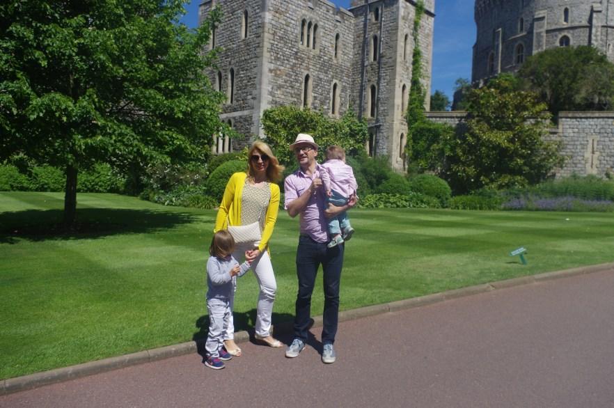 Windsor Castle with kids