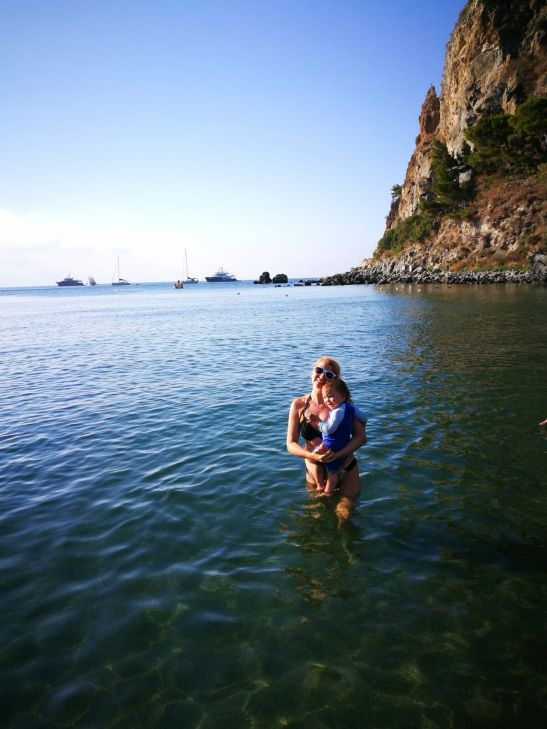Negombo beach - Ischia with kids