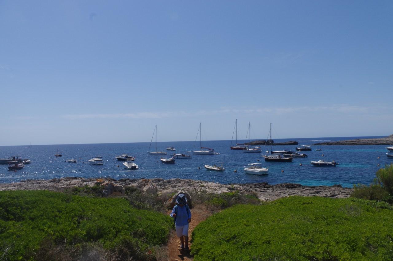 Menorca destinations: trekking with kids