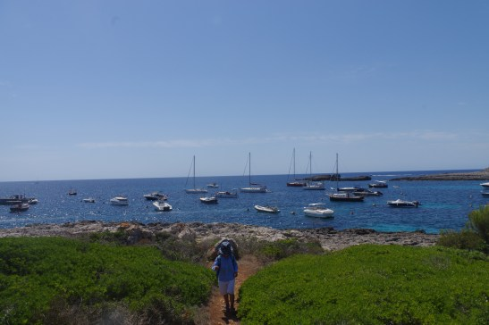 Menorca destinations: trekking with kids