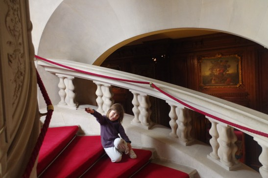 day trips out of London: Waddesdon manor with kids