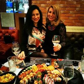 Embassy Lahovari: best sushi in Bucharest