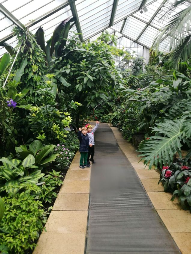 Visit Kew Gardens with toddlers