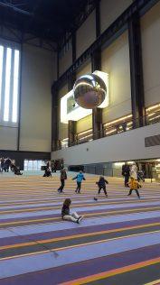 Tate Modern with kids