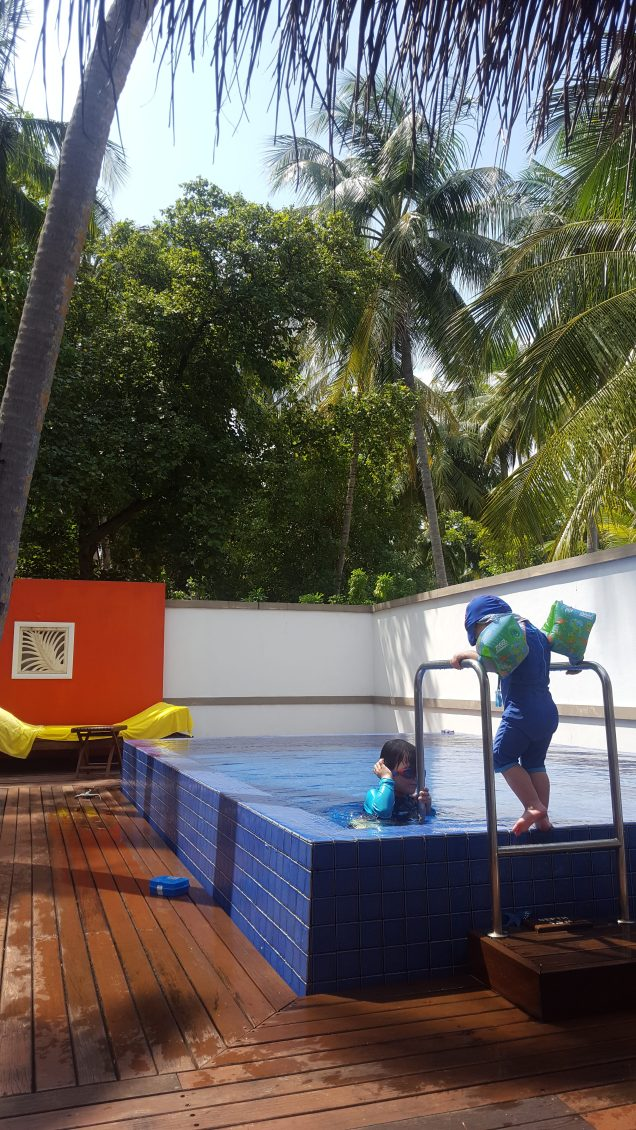 Deluxe beach villa - private pool