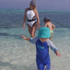 Maldives with toddler