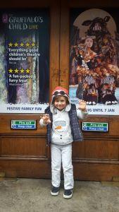 Gruffalo's child theatre - ferral child 1