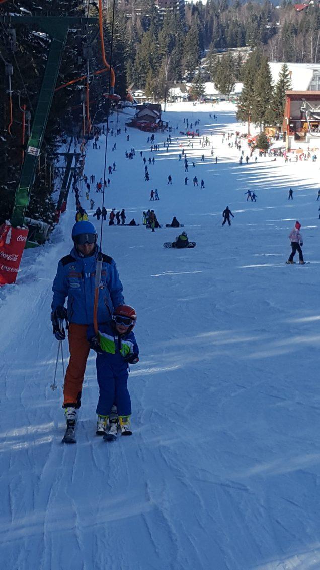 Romania ski holidays with kids