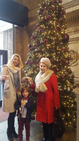 Royal Albert Hall Christmas tree