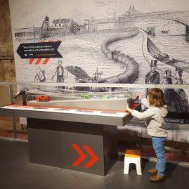 Mail Rail with kids