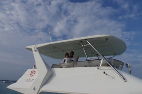 Awesome Maldives activities: Banyan Tree Angsana Velavaru yacht