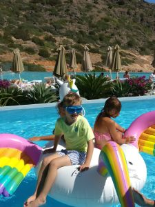 Daios Cove with kids