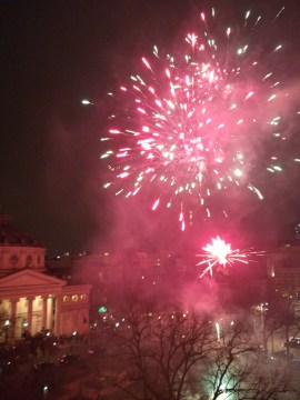 Fireworks Athenee