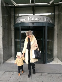 Athenee Palace Hilton with kids