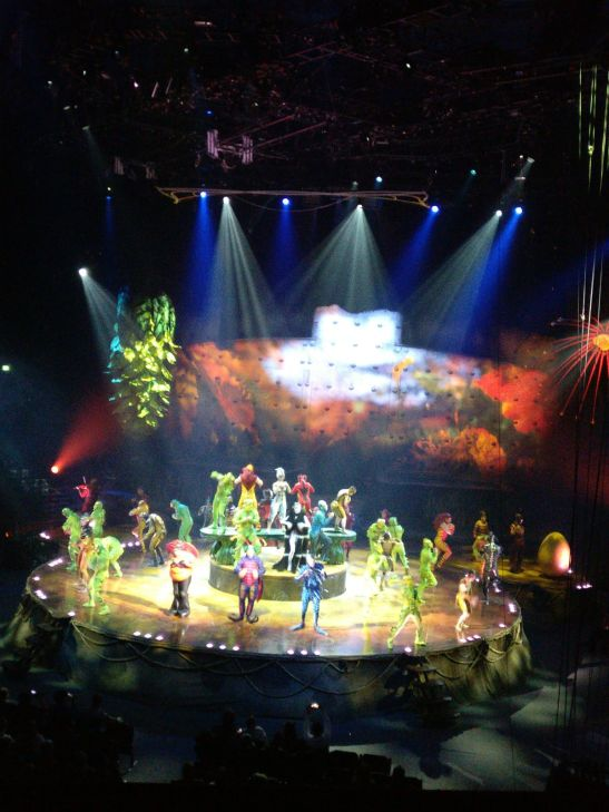 Cirque du Soleil OVO London - Royal Albert Hall with kids