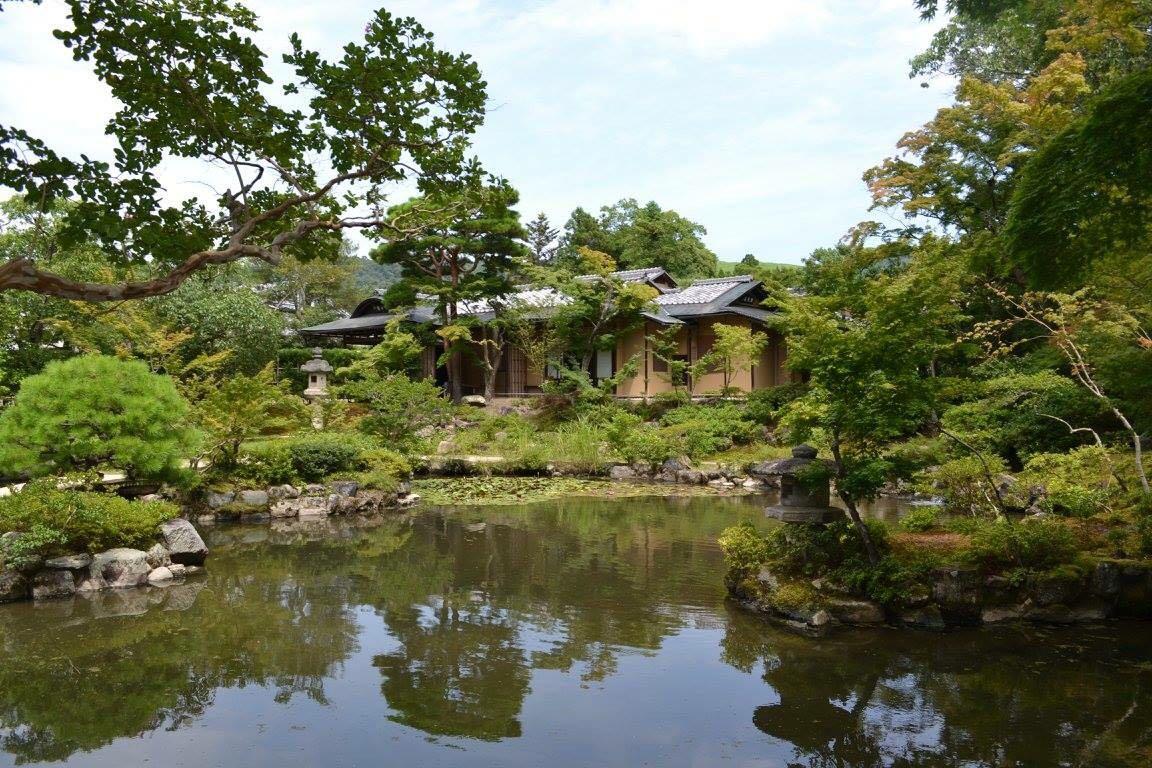 Japan zen gardens
