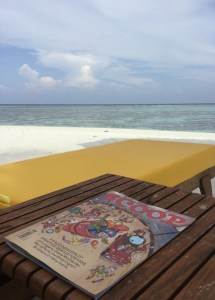 Scoop magazine in Maldives