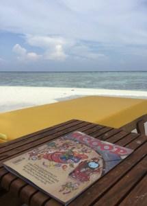 Scoop magazine in Maldives