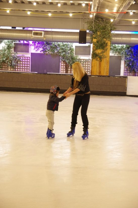 ice skating lessons London