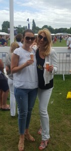 Lanson tent Polo in the Park